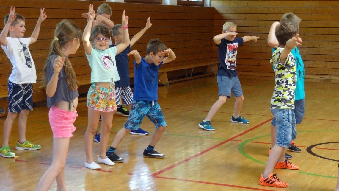 Tanzen in der Volksschule