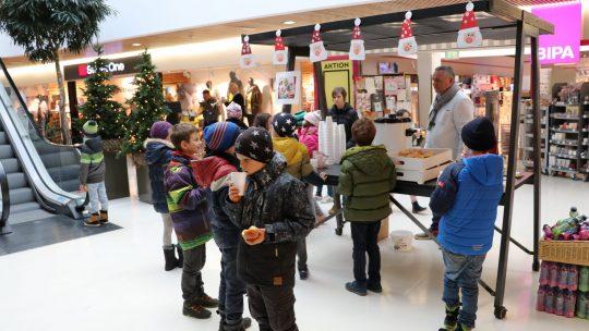 Weihnachtsstimmung im Vinomna Center Rankweil