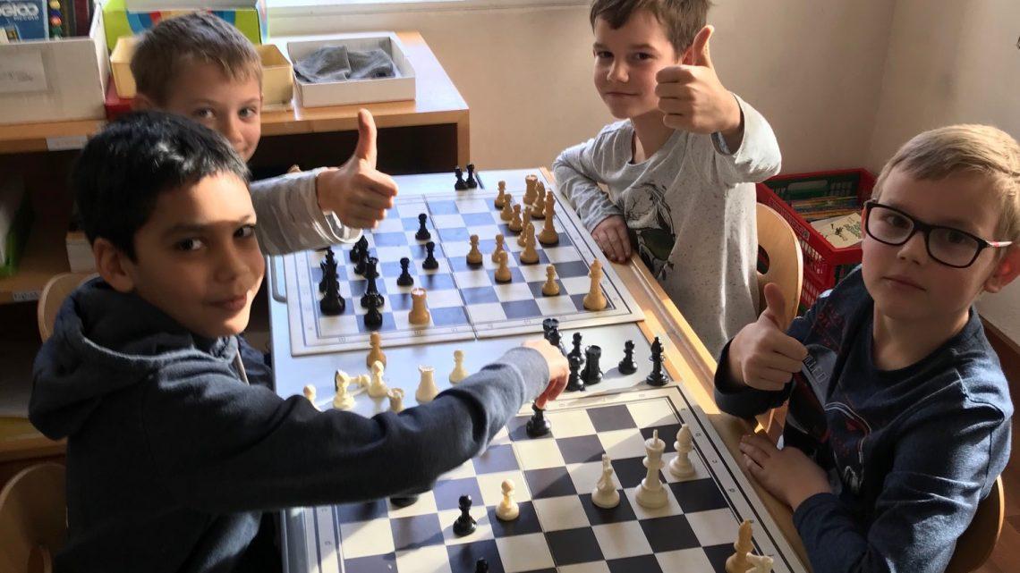 Schach macht klug!