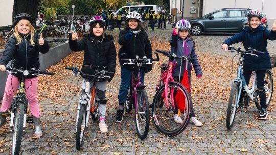 Fahrradprüfung 4a und 4b
