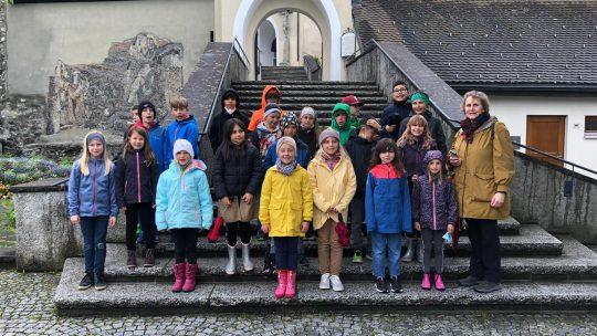 Besuch auf dem Liebfrauenberg